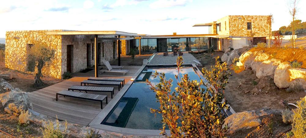Maison archipel balagne for Delmas architecte